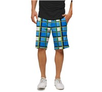 LOUDMOUTH Mens Blueberry Pie Golf Shorts (Blueberry)