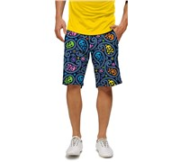 LOUDMOUTH Mens Jolly Roger Golf Shorts (Multi Coloured)