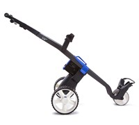 GoKart Manual Electric Trolley (Black/Blue)