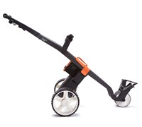 GoKart Manual Electric Trolley (Black/Orange)