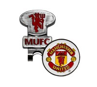 Manchester United Golf Hat Clip With Ball Marker