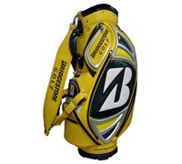 Bridgestone Limited Edition Masters Mini Staff Bag (Yellow/Silver)