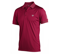 Wilson Staff Mens Performance Polo Shirt 2013 (Chilli)