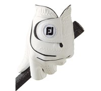 FootJoy Mens WeatherSof Golf Gloves 2014 (White)