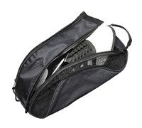 Deluxe Mesh Shoe Bag (Black)