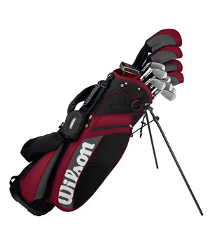 Wilson MOI Complete Golf Package Set (Steel/Graphite)