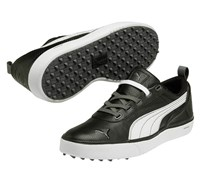 Puma Golf Mens Monolite Spikeless Perforated Golf Shoes 2014 (Black/White)