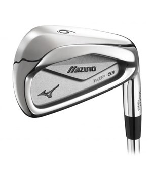 Mizuno MP-53 Demo Irons (Steel Shaft) 2012