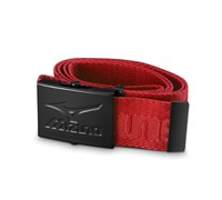 Mizuno MRB Webbing Belt (Red/Black)