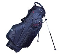 Big Max Dri Lite Spider Golf Stand Bag 2014 (Black/Red)