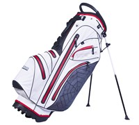 Big Max Dri Lite Spider Golf Stand Bag 2014 (White/Red)