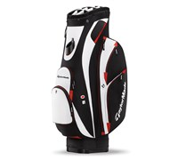 TaylorMade San Clemente Cart Bag 2014 (Black/White/Red)