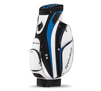 TaylorMade San Clemente Cart Bag 2014 (White/Black/Charcoal)
