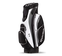 TaylorMade San Clemente Cart Bag 2014 (Black/White/Charcoal)