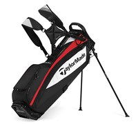 TaylorMade SupremeLite Stand Bag 2014 (Black/White/Red)