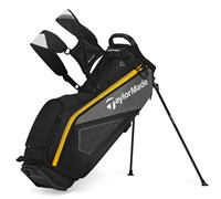 TaylorMade Purelite Stand Bag 2014 (Black/Grey/Yellow)