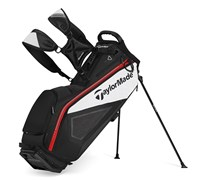 TaylorMade Purelite Stand Bag 2014 (Black/White/Red)