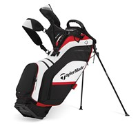 TaylorMade Supreme Hybrid Stand Bag 2014 (White/Black/Red)