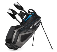 TaylorMade JetSpeed Stand Bag (Black/Grey/Blue)
