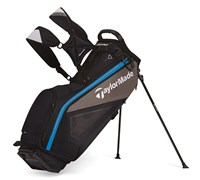 TaylorMade Purelite Stand Bag 2014 (Black/Grey/Blue)