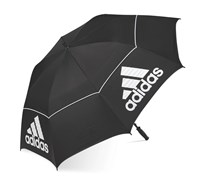 Adidas 64-inch Auto Open Double Canopy Umbrella