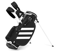 Adidas Clutch Golf Stand Bag 2014 (Black/White)