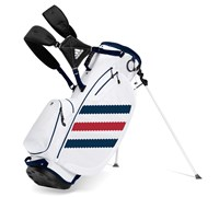 Adidas Clutch Golf Stand Bag 2014 (White/Navy/Red)