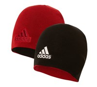 Adidas Reversible Golf Beanie (Black/Red)