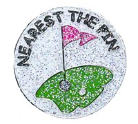Navika Shimmery Golf Ball Markers (Nearest To Pin)