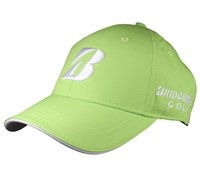 Bridgestone Performance Pearl Nylon Neon Golf Caps (Lime)