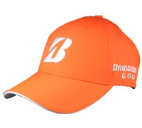 Bridgestone Performance Pearl Nylon Neon Golf Caps (Orange)