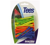 Neon Wooden Tees  40 Pack