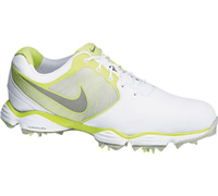 Nike Mens Lunar Control II Golf Shoes 2013 (White/Yellow)