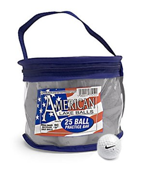 Nike Mixed Bag Lake Balls (25 Balls)