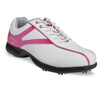 Callaway Ladies Novas Golf Shoes 2014 (White/Pink)