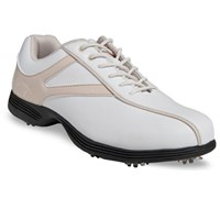 Callaway Ladies Novas Golf Shoes 2014 (White/Beige)