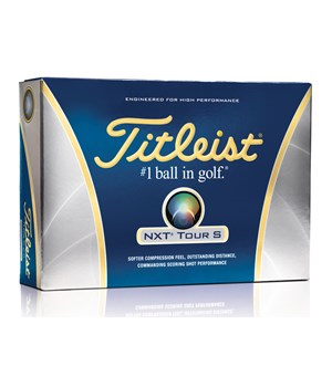 Titleist NXT Tour S White Golf Balls (12 Balls)