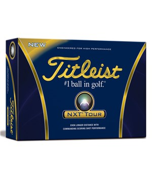 Titleist NXT Tour Golf Balls (12 Balls) 2012