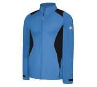 Adidas ClimaProof Storm Stretch Woven-Soft Waterproof Jacket (Blue/Silver)
