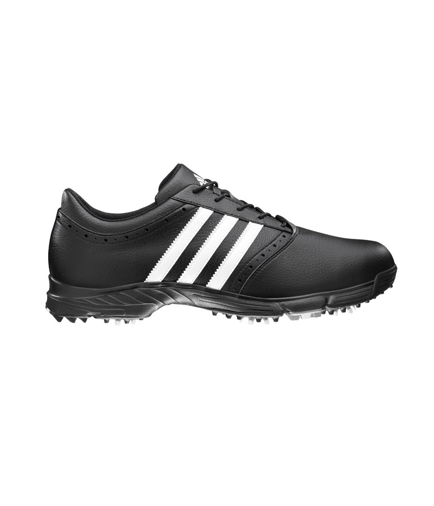 adidas golflite 5 golf shoes black white golfonline