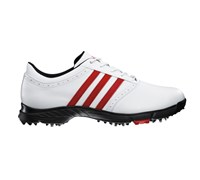 Adidas Mens Golflite 5 WD Golf Shoes 2013 (White/Red)