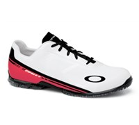 Oakley Mens Cipher 2 Spikeless Golf Shoes 2013 (White/Red)