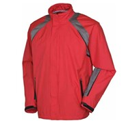 Sunice Mens Typhoon Omaha Waterproof Jacket (Real Red/Shadow)