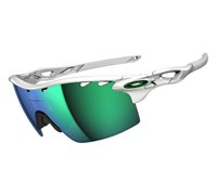 Oakley Radarlock XL Sunglasses (Polished White/Jade Iridium)