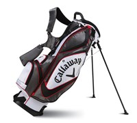 Callaway Golf Chev Org Stand Bag 2014 (Charcoal/White/Red)