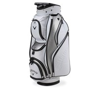 Callaway Golf Org Lux Cart Bag 2014 (White/Silver/Black)