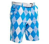 Royal and Awesome Mens Old Toms Trews Golf Shorts (Blue)