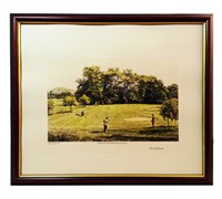 Arthur Weaver Golf Series Prints (Out of Trouble)