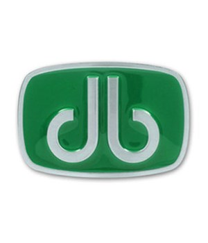 Druh Oval Green Belt Buckle