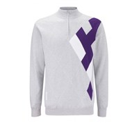 Ping Collection Mens Carter Lined Golf Sweater 2013 (Silver Marl/Multi)